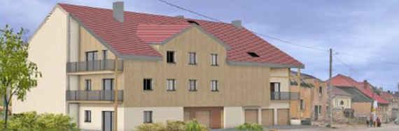 Les Fourgs, 8 appartements neufs: Le Chalet du Petit Marcel