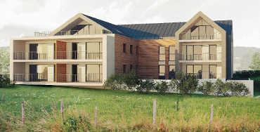 Appartements neufs Val de Morteau: Résidence La Gypserie, 14 logements aux Fins