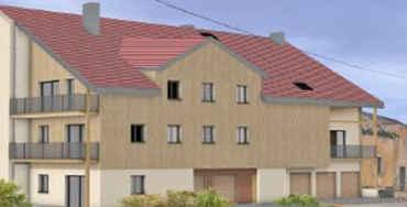 Les Fourgs : 8 appartements en plein centre, tout est Réservé