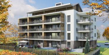 NOUVEAU : Avanne-Aveney : Résidence Marcel Aymé, 17 Appartements pour 2021
