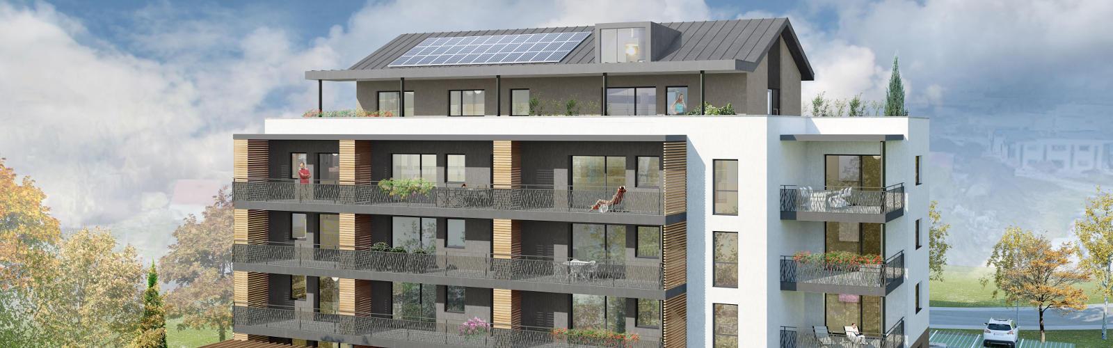 Résidence Marcel Aymé à Avanne-Aveney - 17 appartements neufs pour 2021