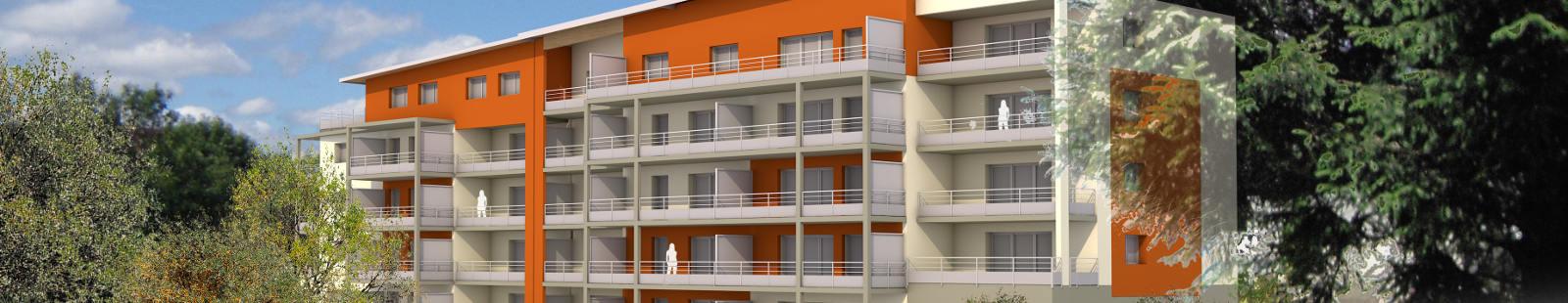 31 appartements neufs à Valdahon avec terrasses au Sud